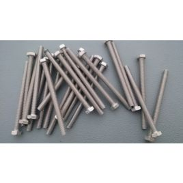 Tapbout RVS A2 M6x80mm.