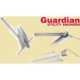 072453 Guardian aluminium anker - 3,2 kg - scheepslengte: 8-10 meter.