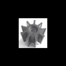 (Imp2) 500144 Impeller - 9 blad - afm. Ø 22,5 x 117,6 x 88,5.