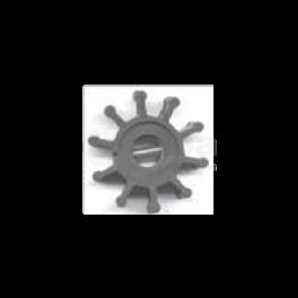 (Imp1) 500146 Impeller - 10 blad - afm. Ø 12,17 x 51,8 x 22.