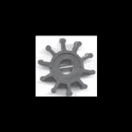 (Imp2) 500161 Impeller - 10 blad - afm. Ø 14,29 x 65 x 68,2.