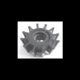 (Imp2) 500189 Impeller - 12 blad - afm. Ø 14,29 x 57 x 32,05.