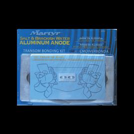 017525M Magnesium Anode Bonding Kit tussen 2 Z-drives.