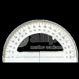 139045 Goniometer van plexiglas 180º - lengte 150 mm.