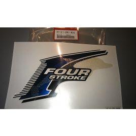 87131-ZW1-N00 Honda 4-stroke logo / decal side.